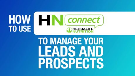 Managing leads and prospects with HNconnect