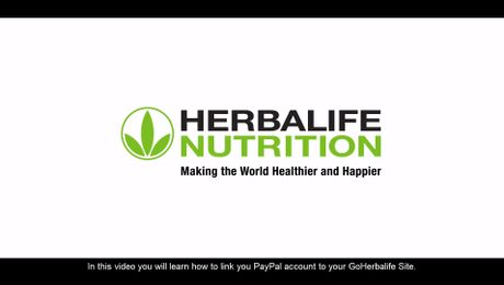 Create a Paypal Account for my GoHerbalife Site?