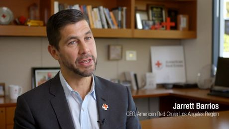 American Red Cross' CEO Jarrett Barrios