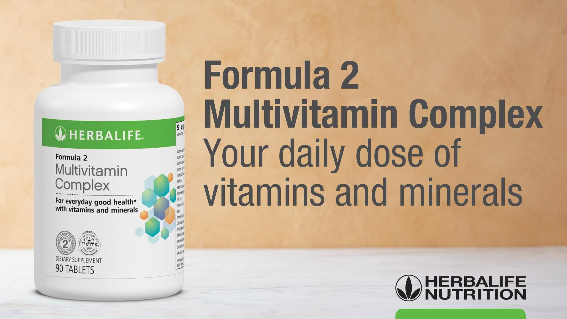 Formula 2 Multivitamin Complex: Know the Products