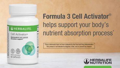 Formula 3 Cell Activator®: Know the Products