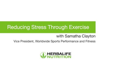 Reducing Stress Through Exercise