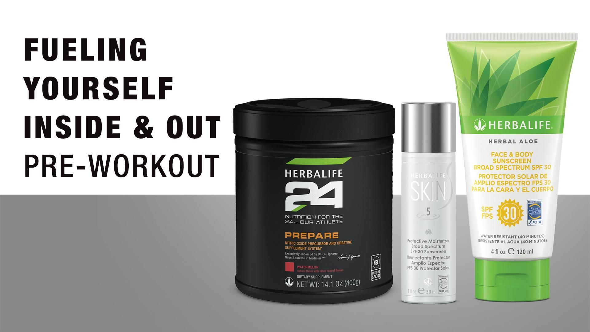 Fueling Yourself Inside & Out: Pre-workout