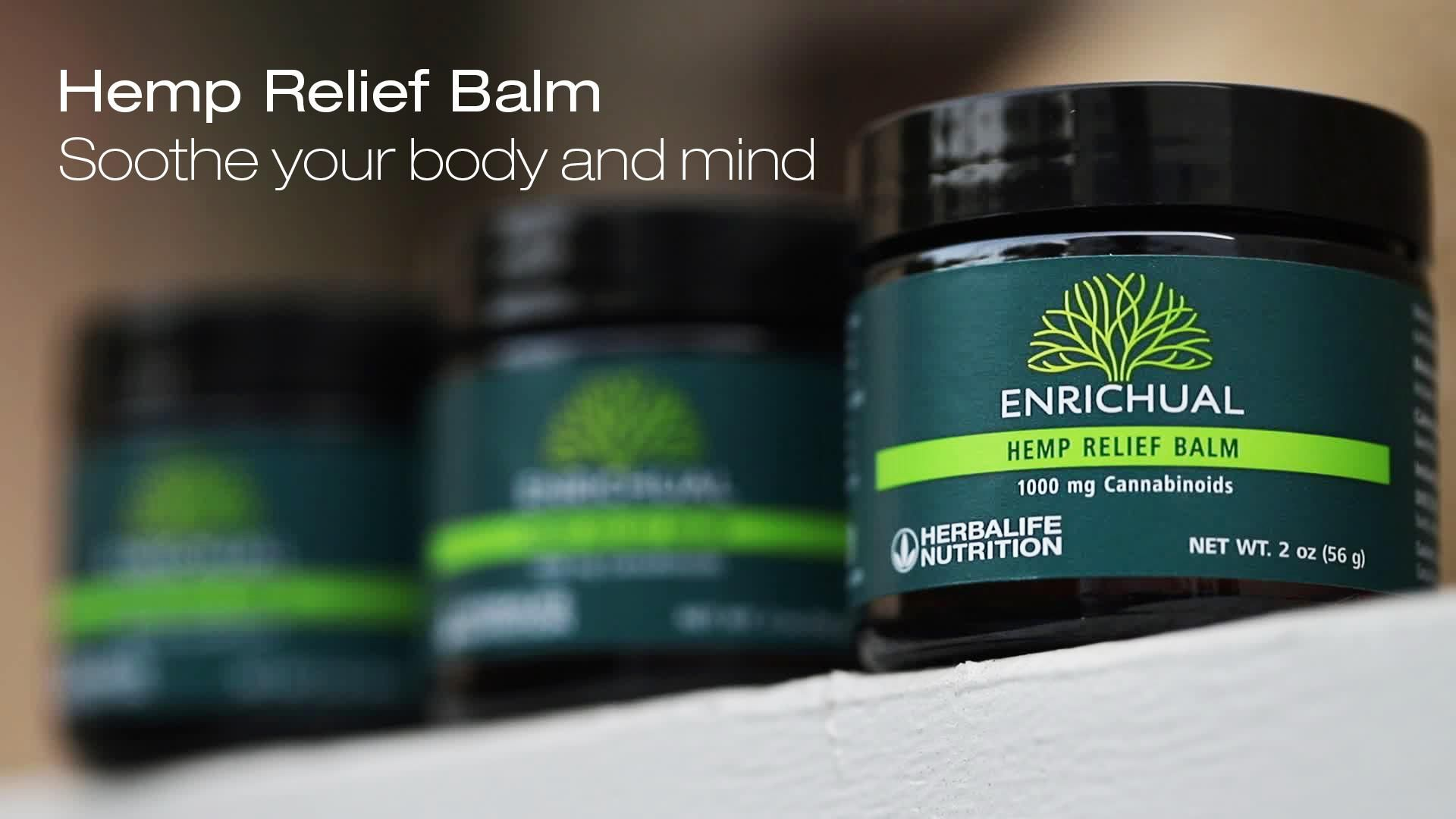 Enrichual Hemp Relief Balm: Know the Products
