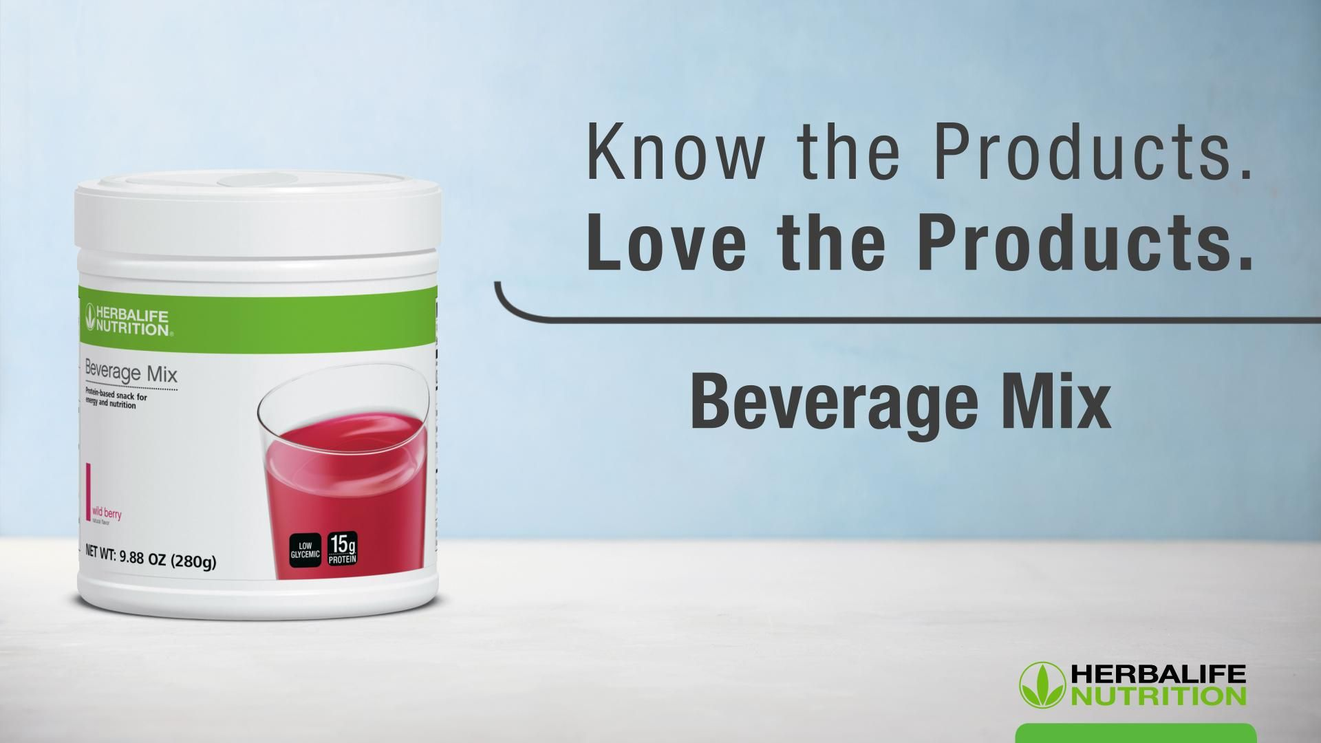 Beverage Mix: Know the Products