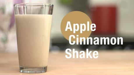 Apple Cinnamon Shake