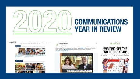 2020 Year In Review Corporate Communications