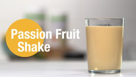 Passion Fruit Shake