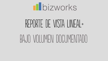 Vista Lineal PLUS: Regalías con Volumen Documentado