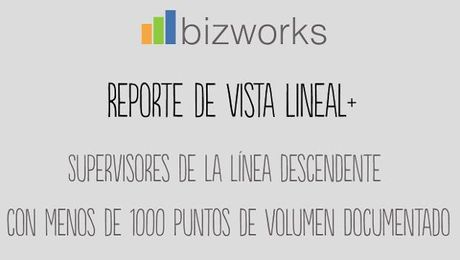 Vista Lineal PLUS: Menos de 1000 puntos de Volumen Documentado