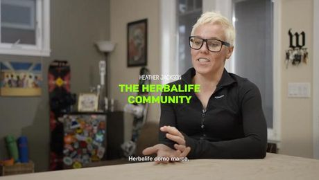 Heather Jackson y Herbalife Nutrition