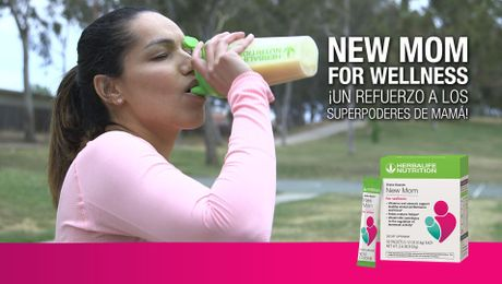 Shake Booster: New Mom for Wellness