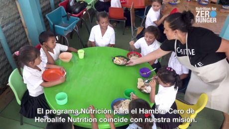 Combatiendo el hambre con Feed the Children