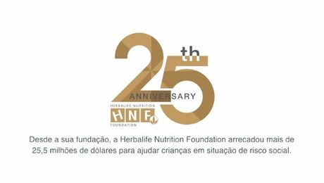 25 anos da Herbalife Nutrition Foundation
