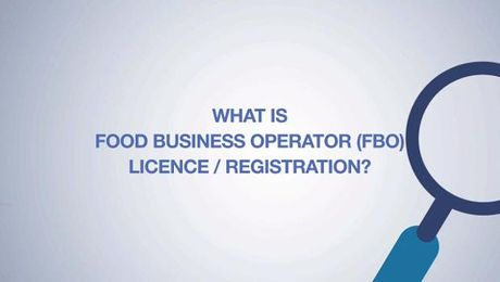 Food Business Operator License/Registration-India