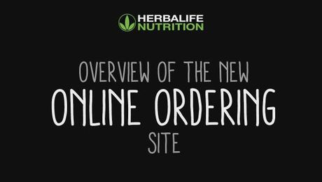 New Online Ordering Overview