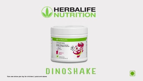Herbalife Strawberry Dinoshake