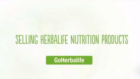 Selling Herbalife Nutrition Products - GoHerbalife