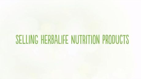 Selling Herbalife Nutrition Products