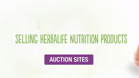 Selling Herbalife Nutrition Products - Auction Sites