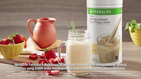 [BM] Manage Your Weight with Herbalife Shake