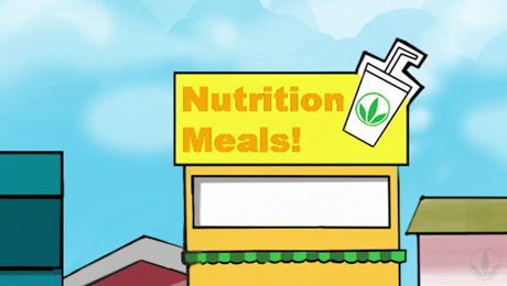 Herbie Tells You The Nutrition Club Rules