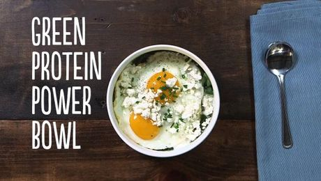 Green Protein Power Bowl