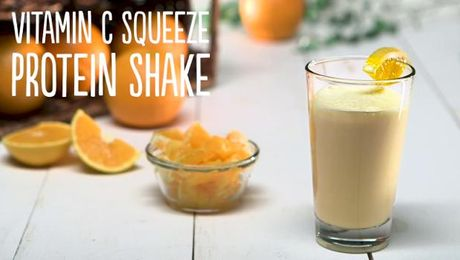 Vitamin C Squeeze Protein Shake