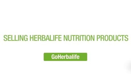 Selling Herbalife Nutrition Products - Go Herbalife