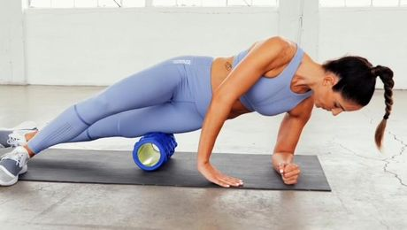 Foam Rolling Recovery Post-Workout