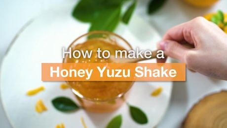 Asian Recipe - Honey Yuzu Shake