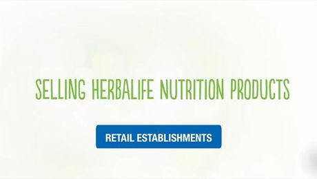 Selling Herbalife Nutrition Products - Retail Establishments (UK)
