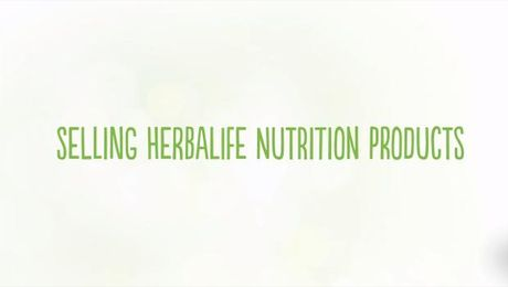 Selling Herbalife Nutrition Products (UK)