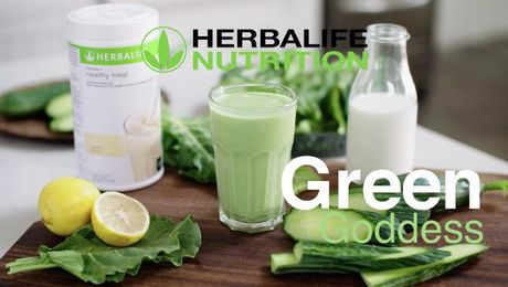 Rachel Allen - Shake Recipe - Green Goddess