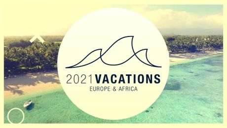 2021 Europe & Africa Vacations Promo