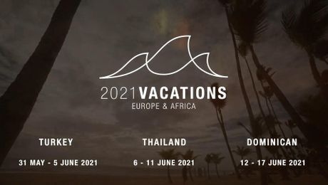 2021 Europe & Africa Vacation Promotion