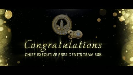 Chief Executive President's Team Recognition