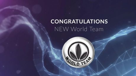 World Team Recognition May - July VM