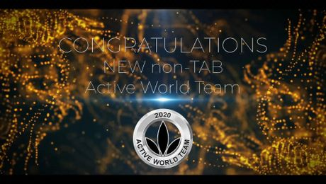 Active World Team Recognition May - July VM