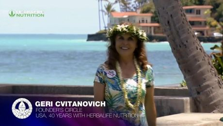 Geri Cvitanovich: 40th Anniversary and History of Herbalife Nutrition