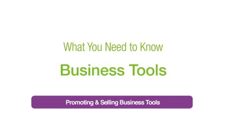 Promoting & Selling Business Tools