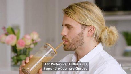Spotlight produit: High Protein Iced Coffee
