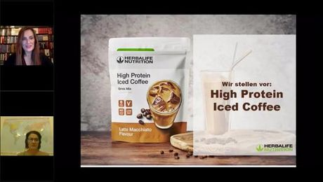 High Protein Iced Coffee Produktschulung