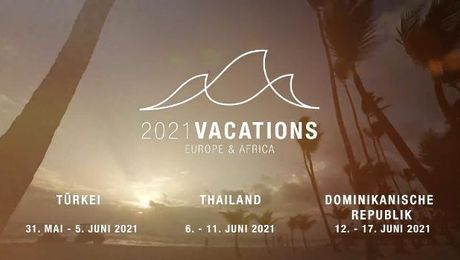 2021 Europe and Africa Vacations Promo