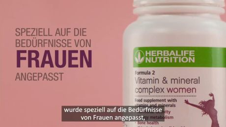 Spotlight Video F2 Vitamin&Mineral Komplex Frauen