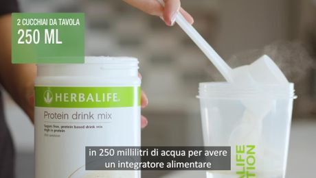 Protein Drink Mix - ver. sottotitoli