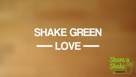 Herbalife Share a Shake! Green Love