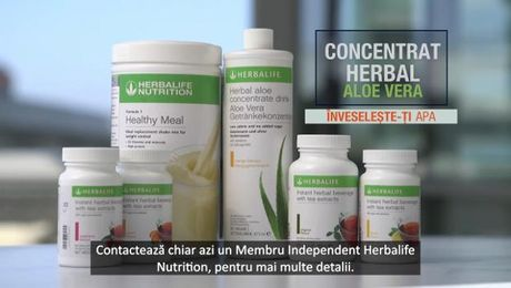 Băutura concentrată Herbal Aloe