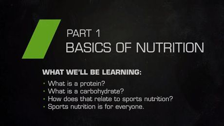 Sports nutrition for the everyday athlete- part 1