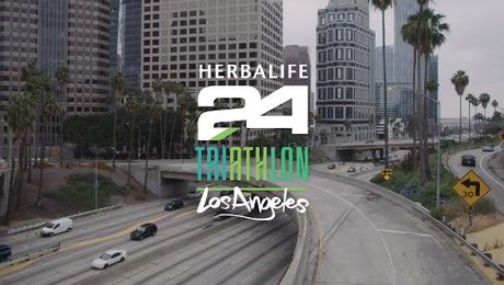 Herbalife24 Triathlon Los Angeles Highlights